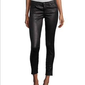 "AG Faux Leather ""The Legging"" Ankle Skinny"